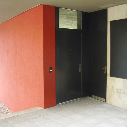 Eingangstüre mit Oblicht