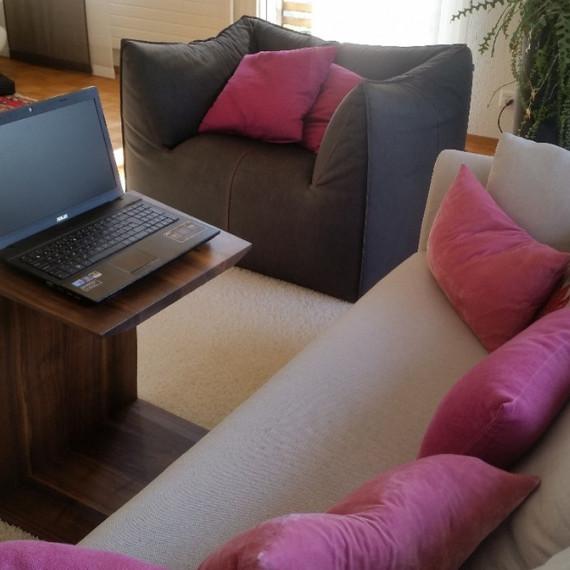 Laptop-Tisch Nussbaum