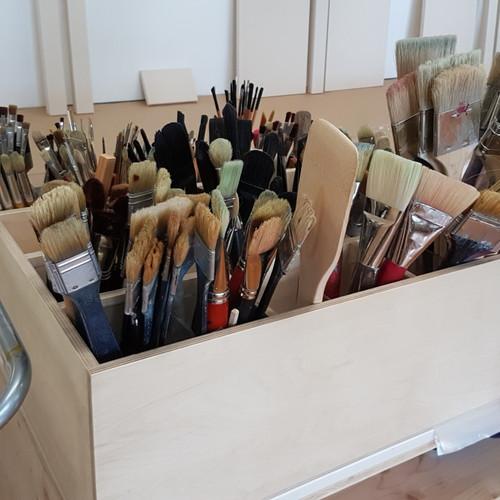 Atelierschrank fahrbar