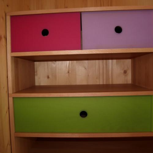 Garderobengestell Buche Plexiglas