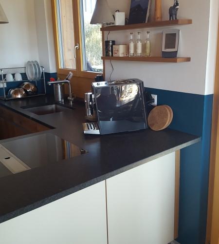 TEAM7 Küche Eiche rustikal Glas