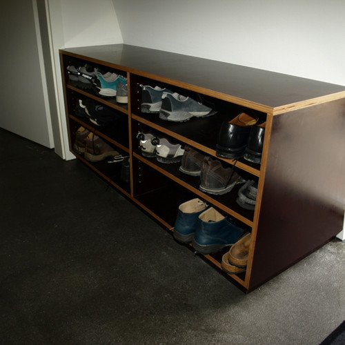 Sideboard Sperrholz braun