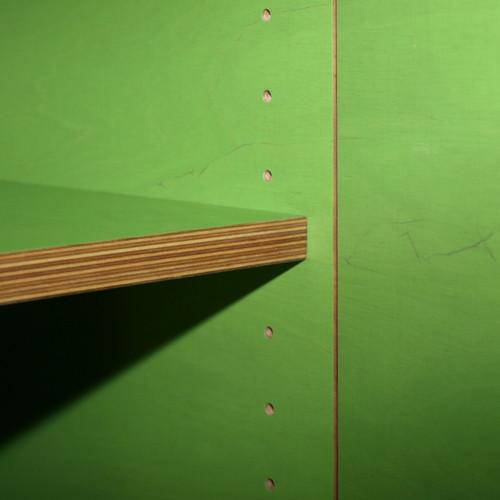 Badzimmermöbel Sperrholzplatte Grün