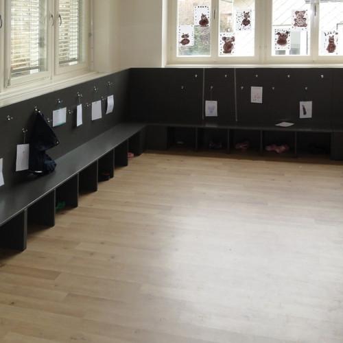 Garderoben Schule