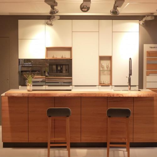 TEAM7 Küche Eiche Glas