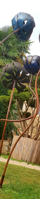 Impression végétale dans le Grand Presbytère de Martres-Tolosane