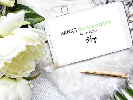 Welcome to the Banks Sustainability Blog!