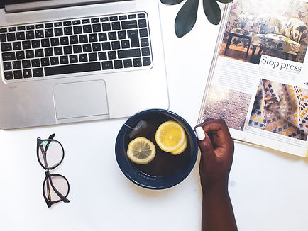 Canva - Person Drinking Lemon Tea In Fro