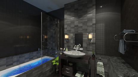 The Beacon M. Bathroom