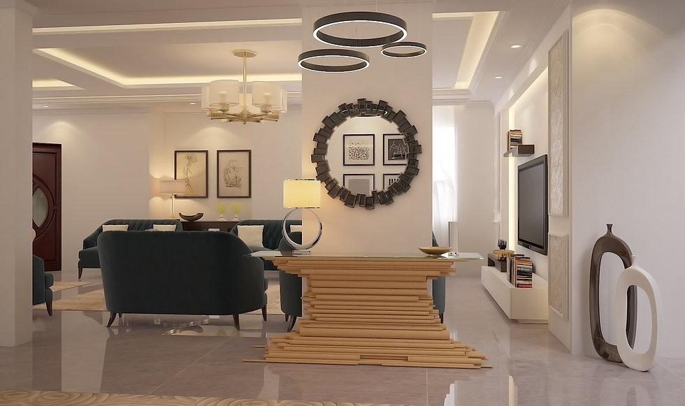 Living room. Dubai