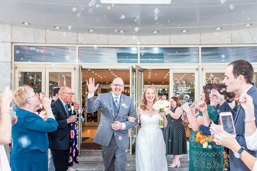 The Woodruff Arts Center Wedding