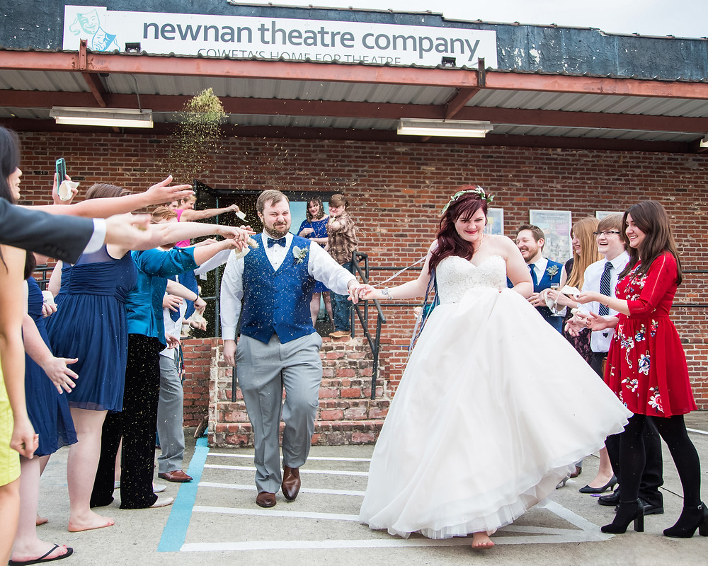Newnan Theatre Company Wedding