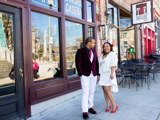 Justin and Jasmine take on historic downtown Decatur in style!