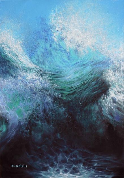 AS ABOVE SO BELOW Original Wave Oil Painting.jpg