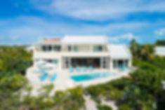 Blue Heaven is a luxury villa rental located on the south side of Providenciales, Turks and Caicos Islands.