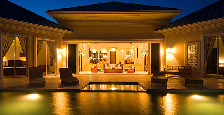 Villa Balinese is a luxury villa rental located on the island of Providenciales, Turks and Caicos Islands.