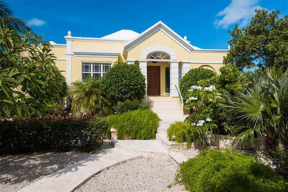 Blue Waters is a luxury villa rental located on the south side of Providenciales, Turks and Caicos Islands.
