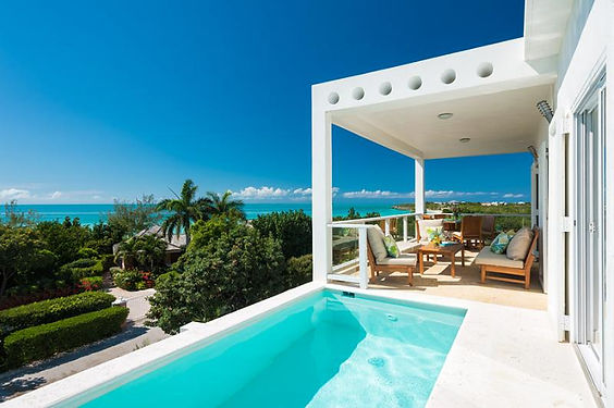 Villa Blanca is a luxury villa rental located on the island of Providenciales, Turks and Caicos Islands.