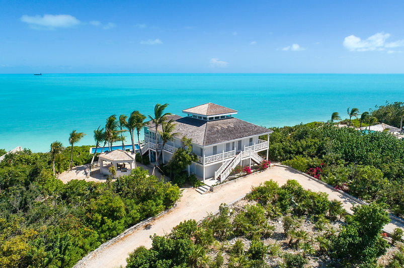 Calypso House is a luxury villa rental located in the Ocean Point area in Southwest Providenciales, Turks and Caicos Islands.