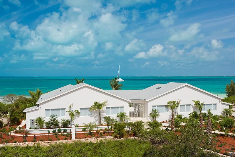 Coconut Beach Villa is a luxury villa rental located on Sapodilla Bay Beach of Providenciales, Turks and Caicos Islands.
