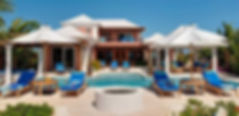 La Percha is a luxury villa rental located in the Ocean Point area of Providenciales, Turks and Caicos Islands.