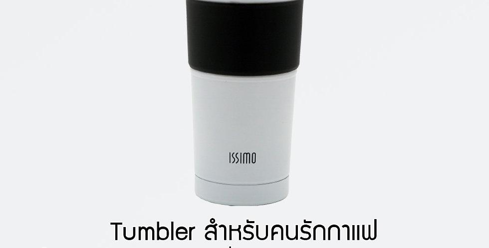 ISSIMO Tumbler GA-600C ถ้วยกาแฟเก็บอุณหภูมิเคลือบเซรามิค
