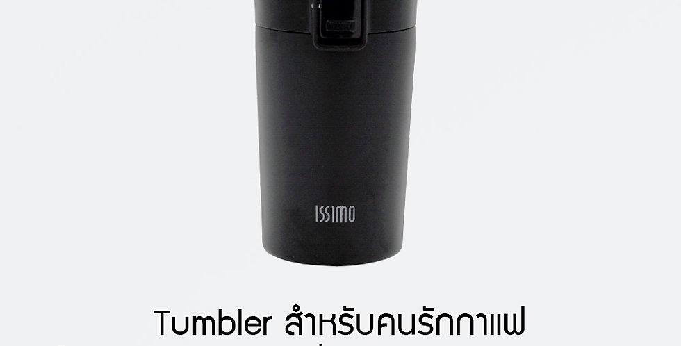 Coffee Tumbler ISSIMO CA-300C Matte Black ถ้วยกาแฟเก็บความร้อนเคลือบเซรามิค
