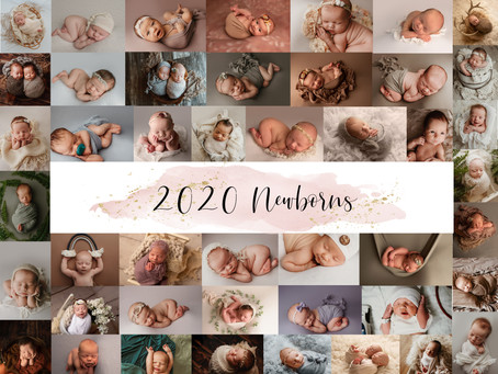 Northwest Tennessee newborn photography - Closing out a great 2020.