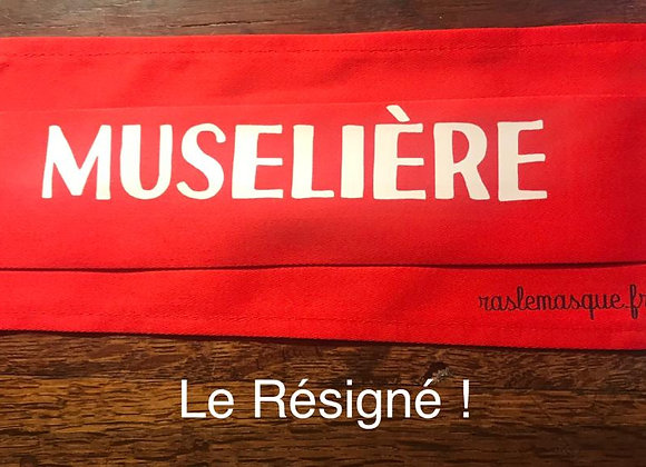 Masque MUSELIERE rouge