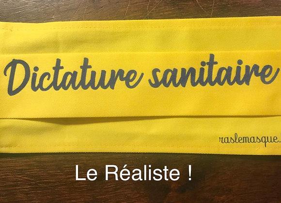 Masque DICTATURE SANITAIRE