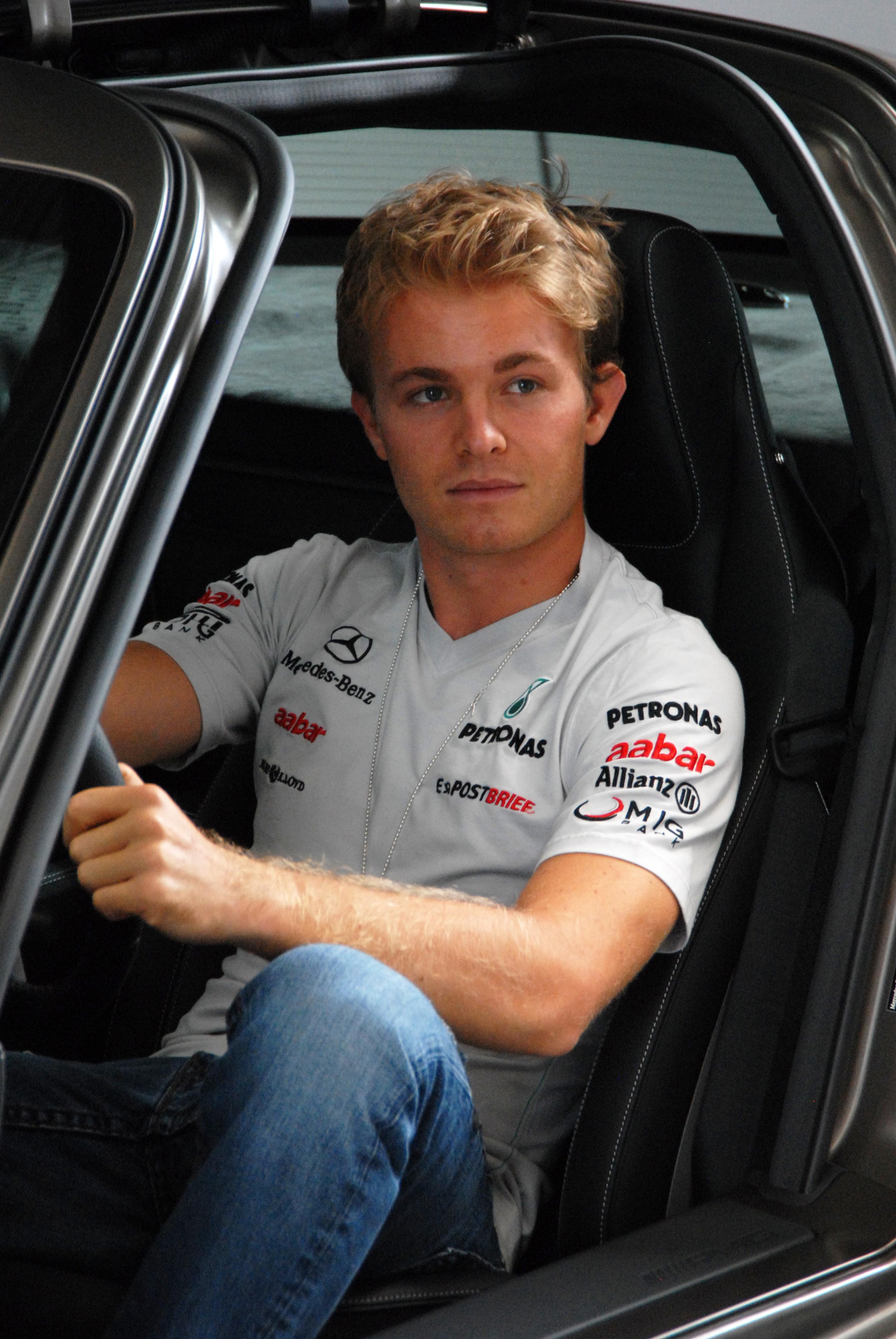Nico Rosberg ritratto
