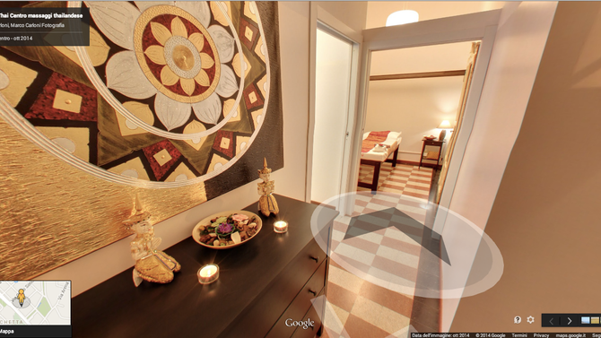 Virtual Tour per Maison Thai - Centro massaggi thailandese