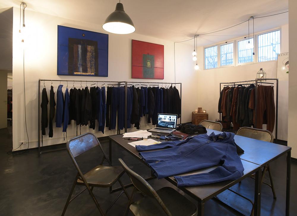 Showroom Andrea Ya'aqov Milano