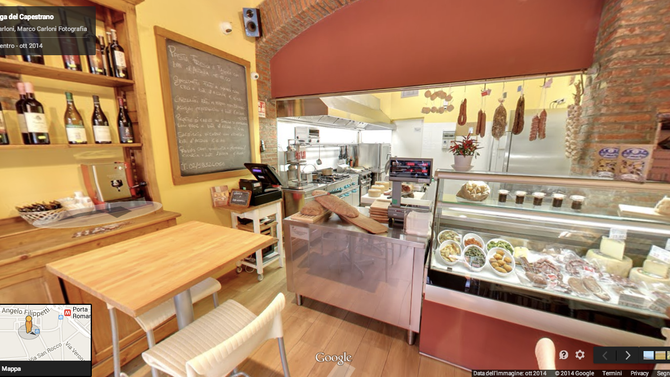 Virtual tour per La Bottega del Capestrano