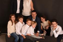 Ritratto famiglia in studio Milano