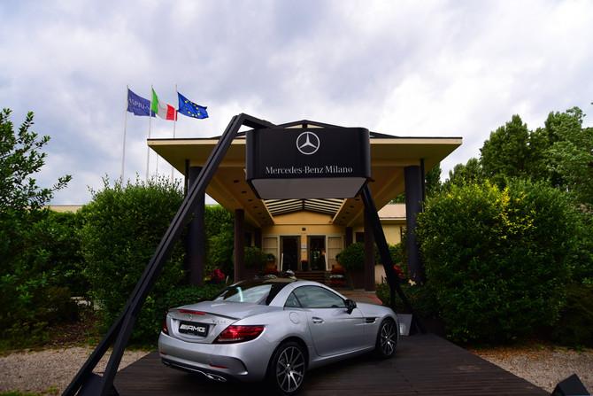 Evento di Mercedes con Adriano Panatta