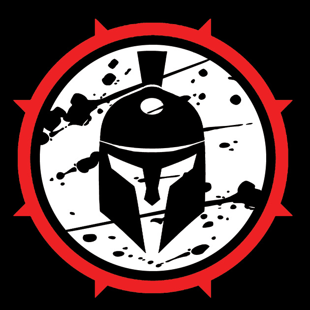 Spartan-red ring logo