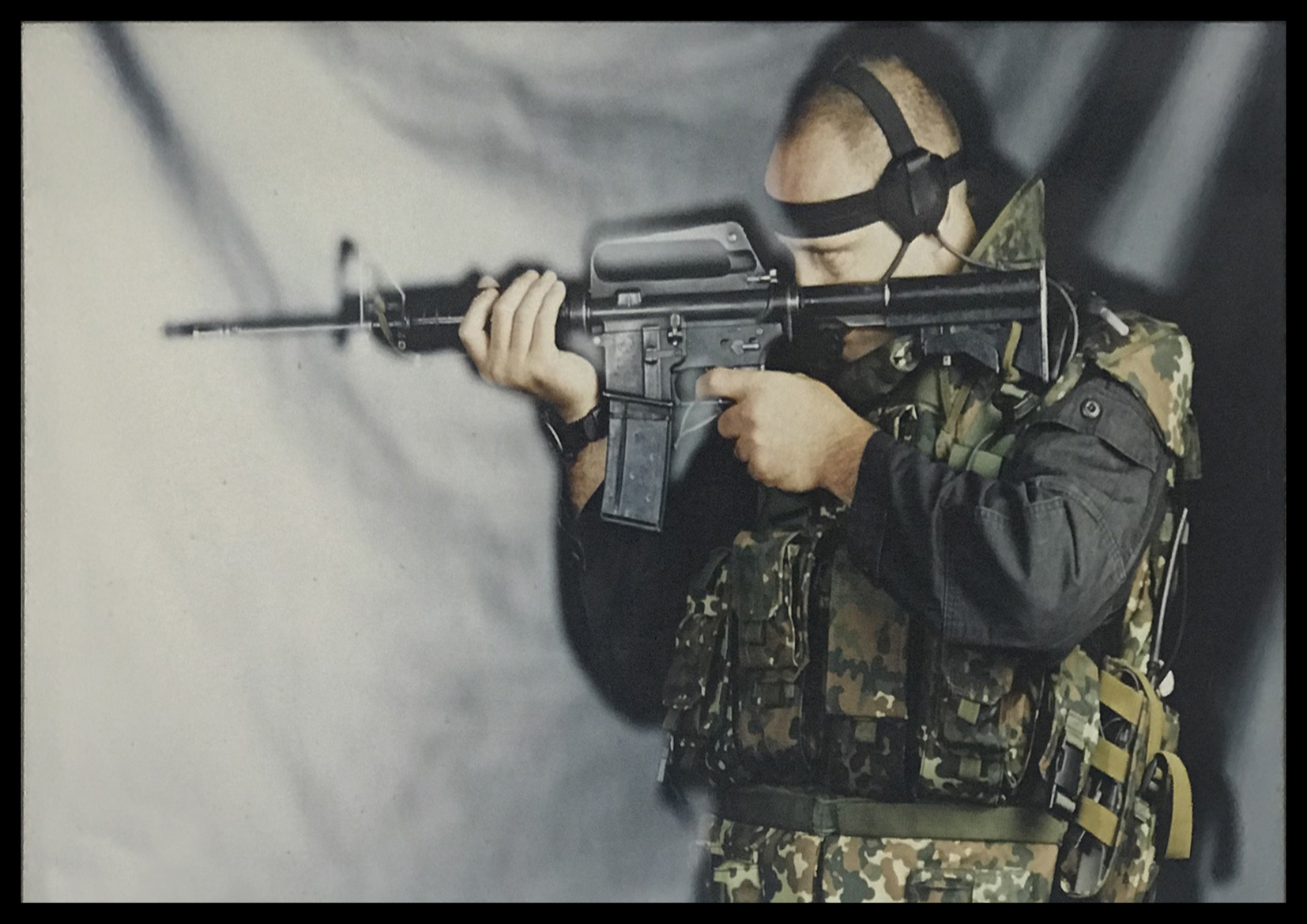 Itay Gil - Sniper Counter terror pose