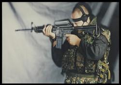 Itay Gil - Sniper Counter terror pose