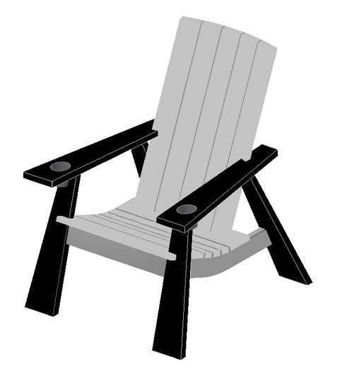 Turn Heads With This Modern Take On A Timeless Classic. This Chair Is Made  From Maintenance Free, 100% Recycled Plastic Lumber And Polished Stainless  Steel.