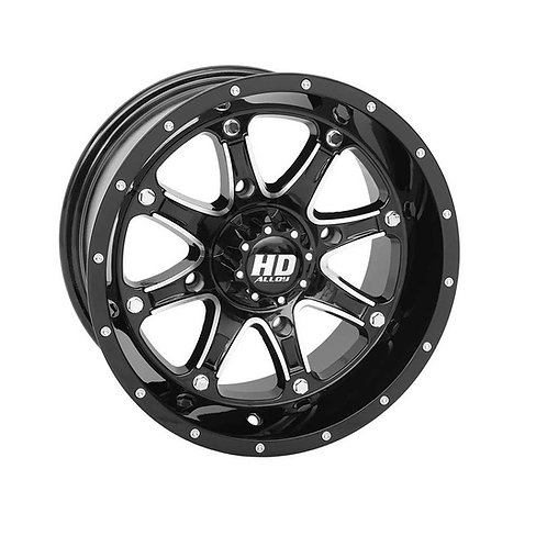 STI HD4 RIM - Gloss Black / Machined