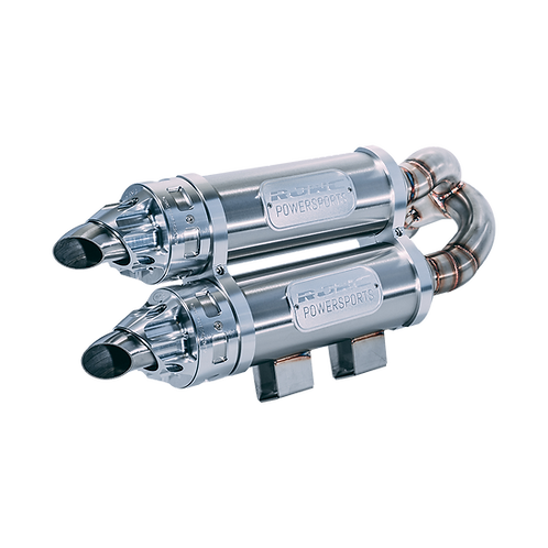 1337 RJWC MUD EDITION MAVERICK X3 TURBO DUAL SLIPON (2017-2020)