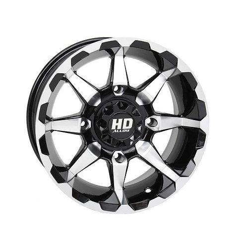 STI HD6 RIM - Gloss Black / Machined