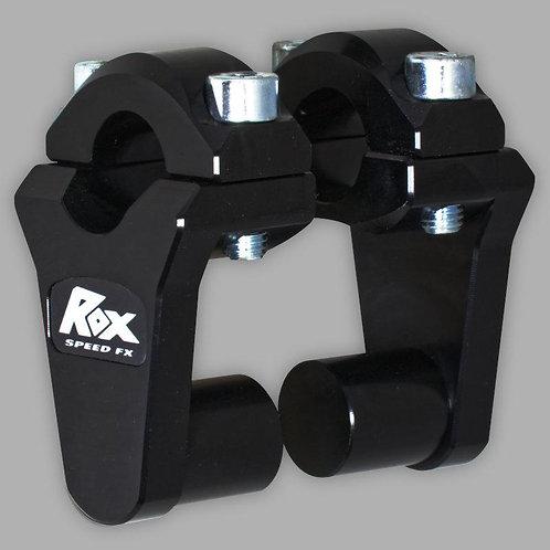 "ROX 2"" Pivoting Bar Risers for 7/8"" Handlebar"