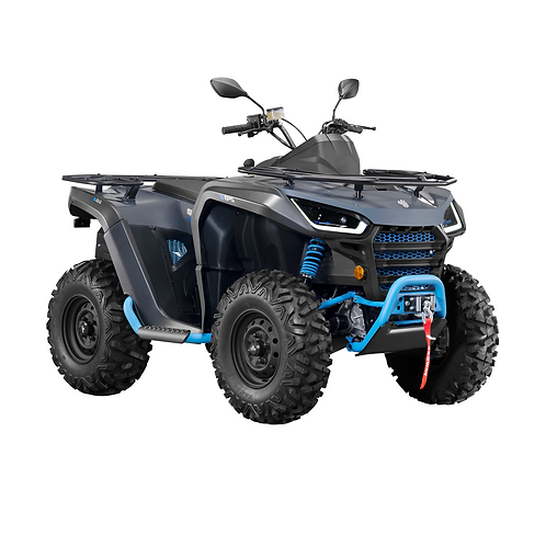 2021 Segway Snarler 570 AT6S E Single Seat ATV - Grey/Blue