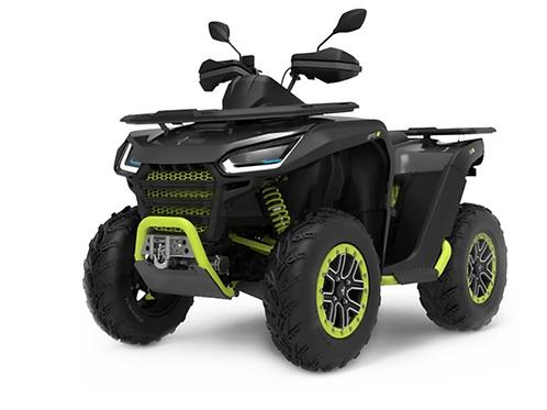2021 Segway Snarler 570 AT6S X Single ATV - Black/Green