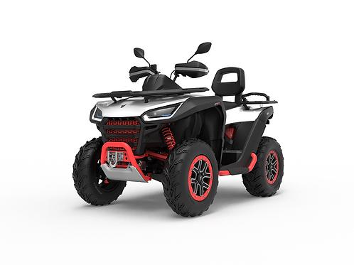 2021 Segway Snarler 570 AT6L X 2UP ATV - White/Red