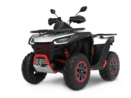 2021 Segway Snarler 570 AT6S X Single ATV - White/Red