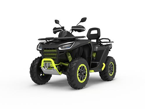 2021 Segway Snarler 570 AT6L X 2UP ATV - Black/Green