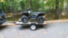 rent an ATV with a trailer